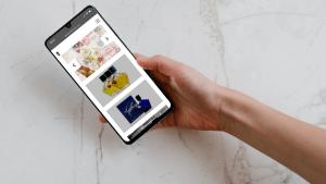 Front-commerce client Tauer e-commerce mobile screenshot