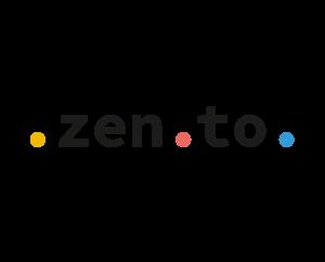 Zento Logo Header Banner Front Commerce